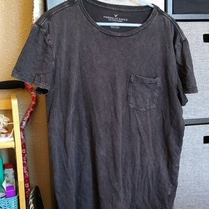 American Eagle Outfitters distressed t men's l